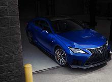 Nowy Lexus RC F - garść poprawek