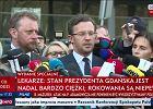Lekarze o stanie Pawła Adamowicza: Serce i płuca nie pracują samodzielnie, walczymy