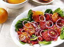 Sałatka z pomarańczy - ugotuj