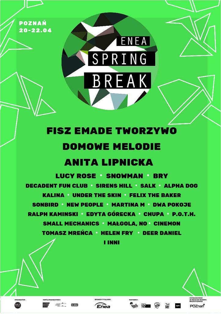 Enea Spring Break 2017 / materiały prasowe