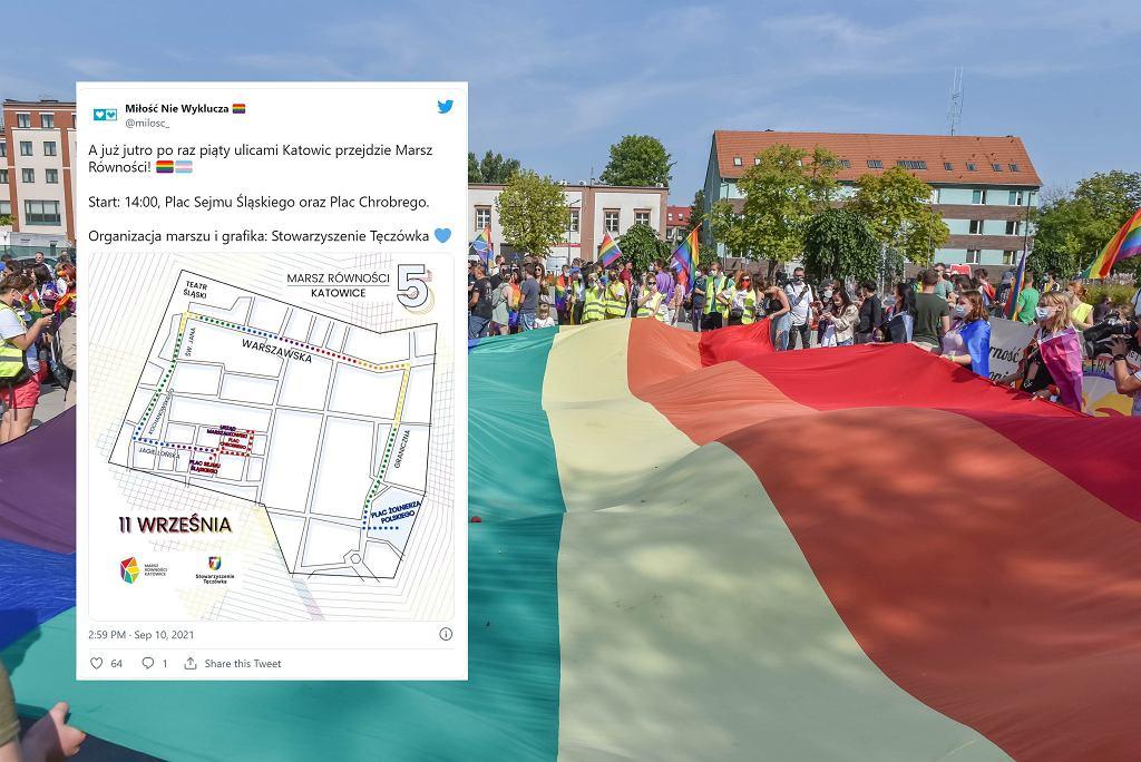 W sobotę odbędzie się Marsz Równości w Katowicach