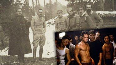 Marszałek Piłsudski i Brad Pitt