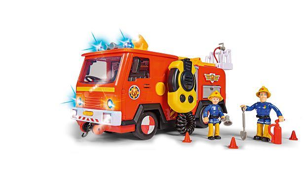 Strażak Sam i jego wspaniały pojazd Jupiter dotrzymają dziecku towarzystwa w długie, jesienne wieczory.