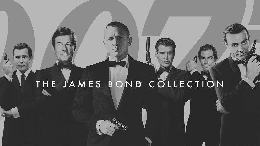 James Bond Collection w HBO i HBO GO