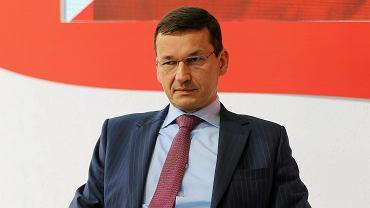 Wicepremier, minister rozwoju Mateusz Morawiecki podczas XXVII forum Ekonomicznego. Krynica, 5 września 2017