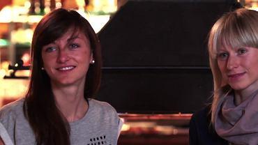 Monika Hojnisz i Krystyna Guzik