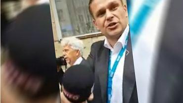 Łukasz Sitek z TVP i pościg za prezydentem Gdańska