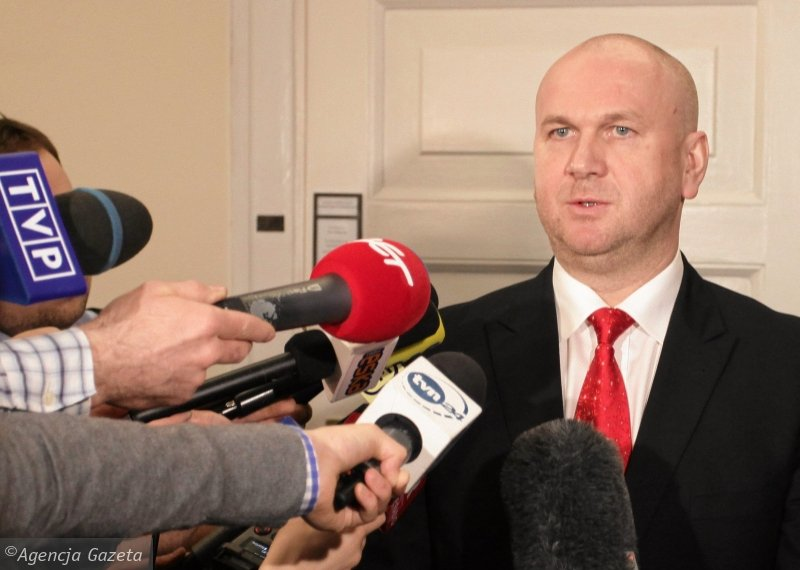 Odwołany szef CBA Paweł Wojtunik