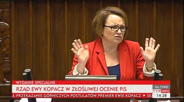 Anna Zalewska z PiS