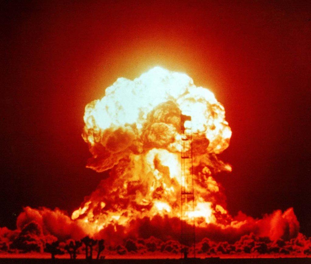 Wybuch bomby atomowej, 1953