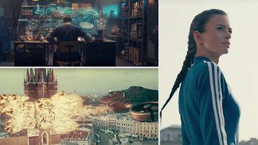 """Kadry z filmu """"Smok""""."""