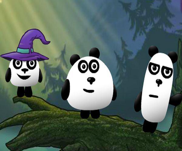 Pandy trzy w świecie fantasy