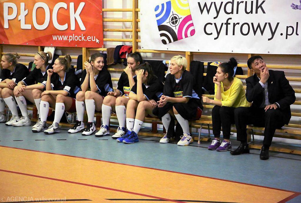 Koszykówka, I liga. Mon-Pol Płock - AZS Uniwersytet Warszawski 46:59