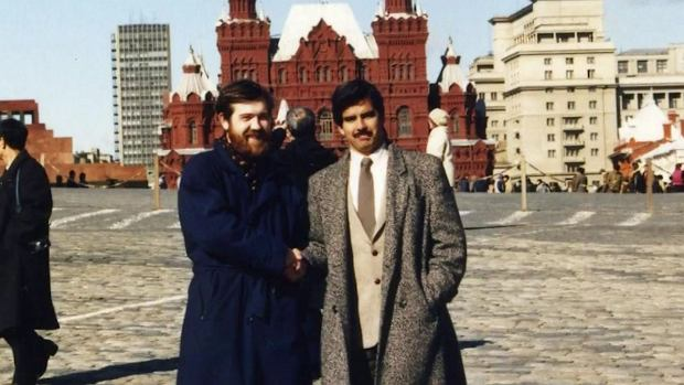 Aleksiej Pażytnow i Henk Rogers