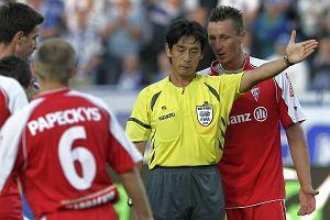 Bohater pierwszego dnia mundialu, Yuichi Nishimura, był zachwycony po meczu Lecha w Poznaniu