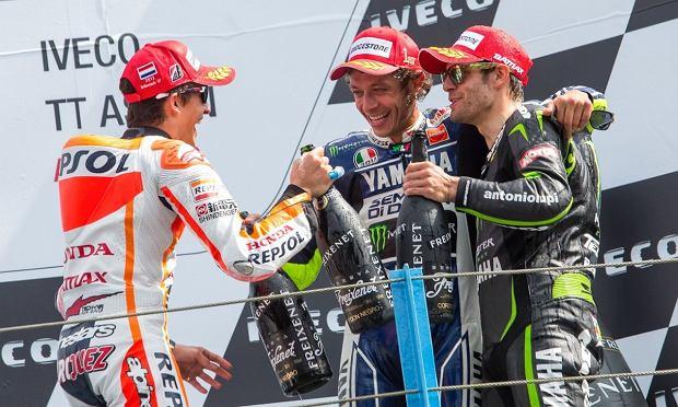 Rossi, Crutchlow i Marquez