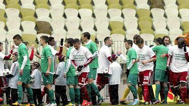 Lechia Gdańsk zremisowała z Wisłą Kraków w meczu na PGE Arenie.