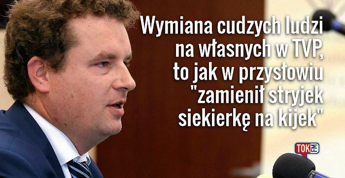 Jacek Wilk o zmianach w mediach publicznych