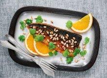 Makrela w glazurze pomarańczowej z harissą - ugotuj