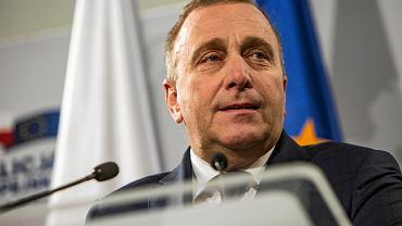 Eurowybory 2019. Grzegorz Schetyna na konwencji wyborczej KE w Rzeszowie