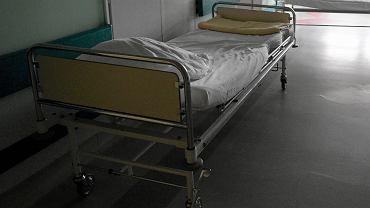 Łóżko szpitalne, zdj. ilustracyjne