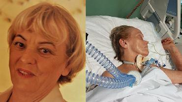 Pani Helena przed wypadkiem i w szpitalu we Włoszech