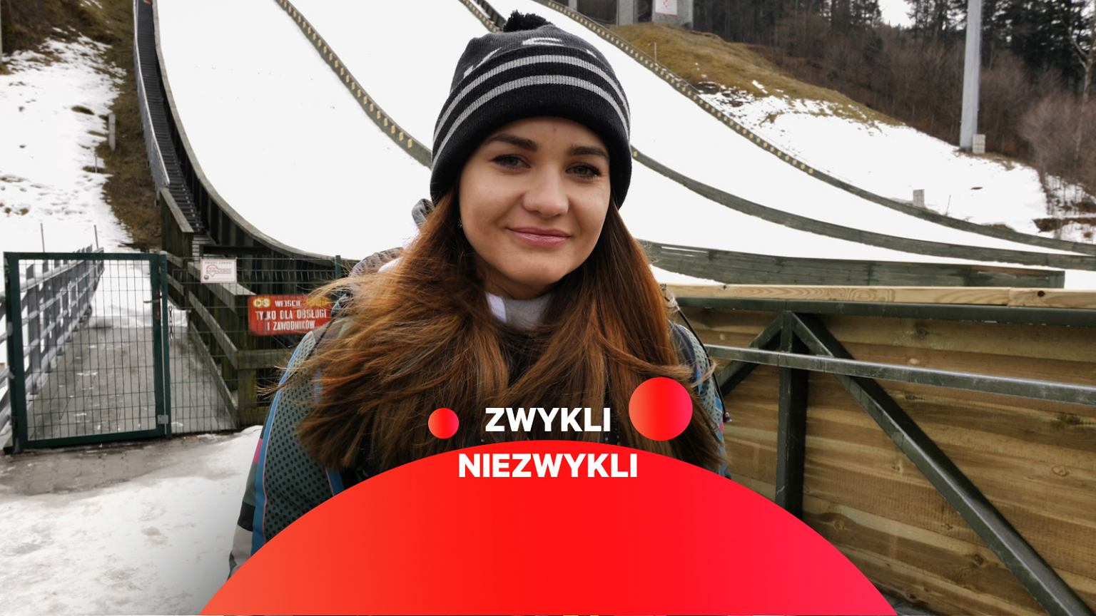 Marcelina Hula szyje stroje dla skoczków narciarskich