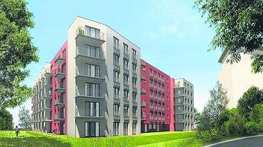 Tak wygląda najnowszy nabytek Funduszu Mieszkań na Wynajem.  109 mieszkań, które powstaną w tej czynszówce, trafią na rynek za rok