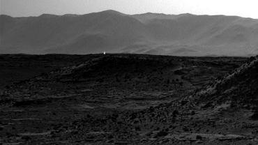 Światło na Marsie
