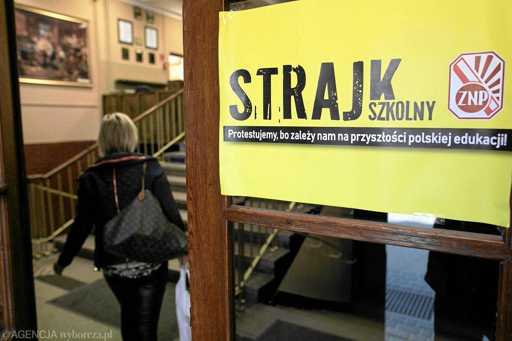 Lublin. Kwietniowy strajk nauczycieli