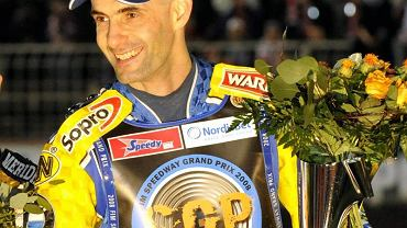 Gollob na podium 2008