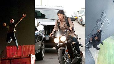 "Jason Statham w ""Transporterze"", Angelina Jolie w ""Salt"" i Tom Cruise w ""Mission: Impossible. Rogue Nation"""