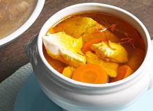 Zupa szafranowo-chlebowa - ugotuj