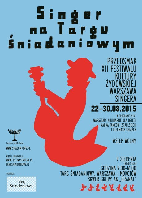 """Przedsmak zbliżającego się XII Festiwalu Kultury Żydowskiej """"Warszawa Singera"""""""