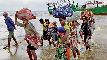 Ofiary cyklonu Idai, który spustoszył część Mozambiku w marcu 2019 r.
