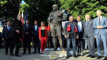 Odsłonięcie pomnika Feliksa 'Papy' Stamma