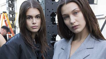 Kaia Gerber i Bella Hadid