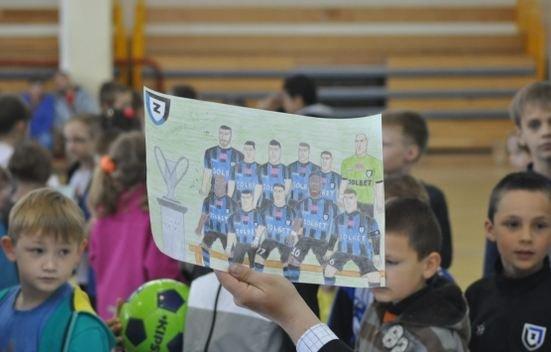 Spotkanie z piłkarzami Zawiszy
