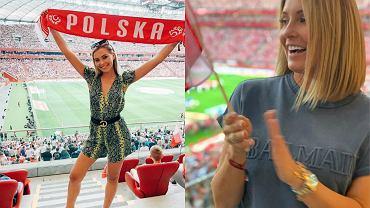 Tłum gwiazd na meczu Polska-Izrael. Lewandowska, Kubicka, Rozenek, Grosicka i inni