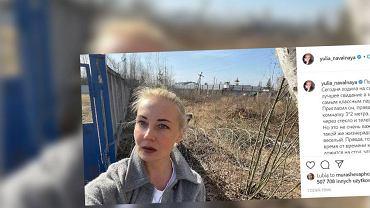 Relacja Julii Nawalnej po widzeniu z mężem