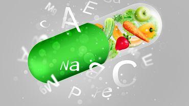 Normalna dieta dostarcza dobowe zapotrzebowanie na większość witamin.