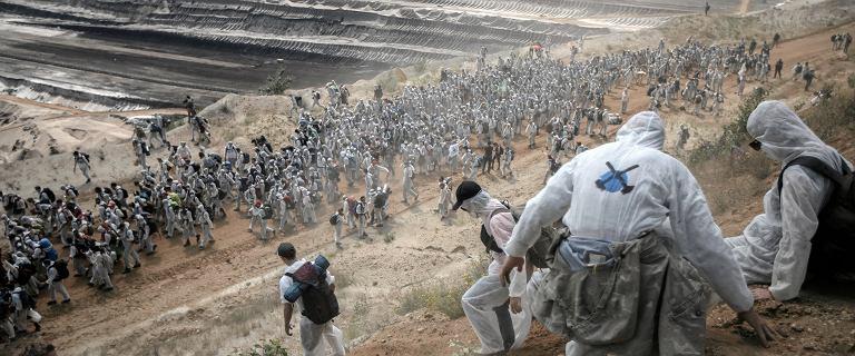 Niemcy. Setki ekologów wdarły się na teren kopalni węgla brunatnego