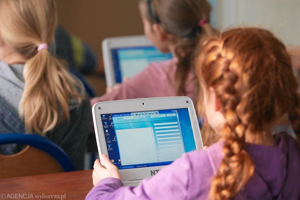 Multimedialna klasa w szkole podstawowej w Jarocinie, 26 listopada 2010