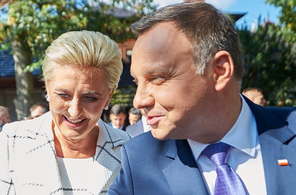 Agata i Andrzej Dudowie