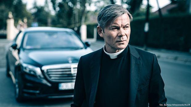 Jacek Braciak w filmie 'Kler'