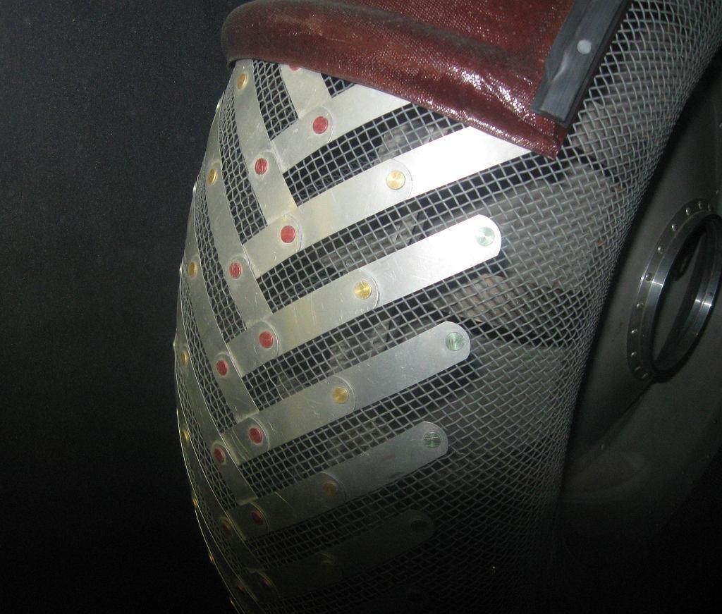 Koło zaprojektowane do pojazdu Lunar Roving Vehicle