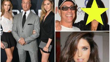 Sylvester Stallone ma 3 piękne córki, a wiemy o tym, bo aktor często pojawia się w ich towarzystwie na imprezach. Jednak jego koledzy - aktorzy wcielający się w rolę twardzieli - wcale nie ustępują mu pola. Poznajcie piękne córki twardzieli.