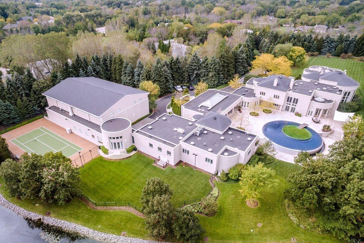 Michael Jordan Private House