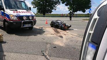 Kierowca miał 3,2 promila. Doprowadził do wypadku, w którym ciężko ranny został motocyklista