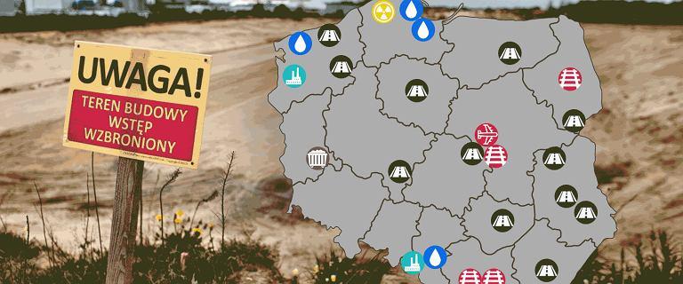 Megainwestycje za 300 mld zł. Na mapie nie tylko CPK i elektrownia jądrowa